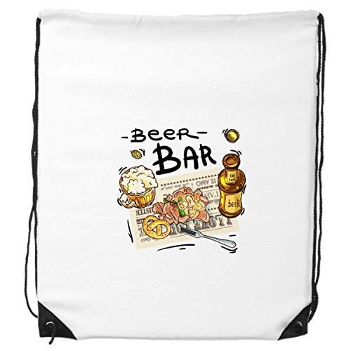 DIYthinker Beer Bar Gourmet-Brot Frankreich-Rucksack Einkauf Geschenk Sporttaschen