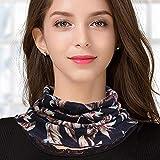 ZAMi Écharpe en Laine Capuche à Capuche pour Femmes 100% Laine Ultra-Fine écharpe tricotée-Jane Jinghua
