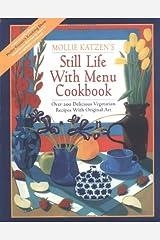 Still Life with Menu Cookbook Paperback