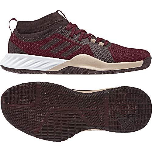 adidas Crazytrain Pro 3.0, Zapatillas de Deporte para Mujer, Rojo (Granat/Granat/Rojnoc 0), 42 EU