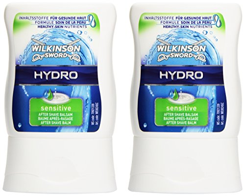Wilkinson Sword Hydro, After Shave Balsam Sensitive, 2er Pack (2 x 100 ml)