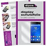 dipos I 6X Schutzfolie klar kompatibel mit Sony Xperia C5 Ultra Folie Bildschirmschutzfolie