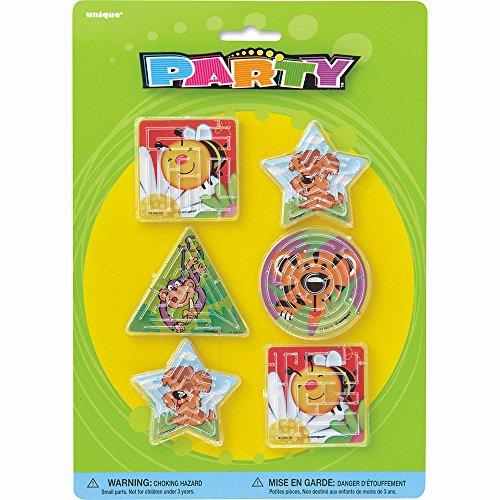 Jeu d'adresse Lot de 4 Motif animaux pour remplir des Pinatas Anniversaires d'Enfants