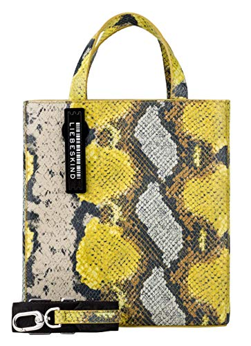 Liebeskind Berlin Weber Snake Leather PaperS Golden Olive
