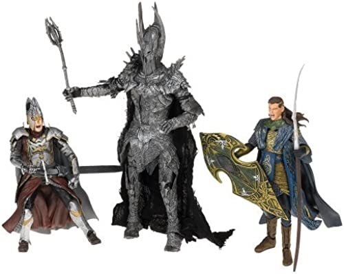 diseños exclusivos LOTR - Defeat of Sauron Sauron Sauron Deluxe Gift Pack by Toy Biz  en promociones de estadios