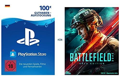 PSN Guthaben-Aufladung für Battlefield 2042 Gold Edition - Download Code - deutsches Konto