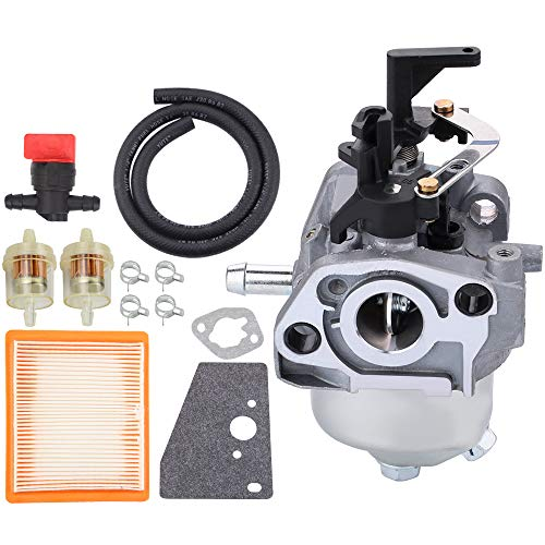 Venseri 14 853 68-S 14 853 55-S Carburetor for Kohler XT650 2027 3034 XT675 3076 2075 Toro Husqvarna MTD Auto Choke Carb with 14 083 15-S Air Fuel Filter