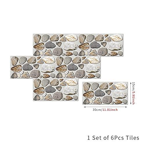 Autoadhesivo extraíble Retro Decoración de Pared Mural Decoración de Pared Decoración debañoPegatinas de baldosas de Suelo