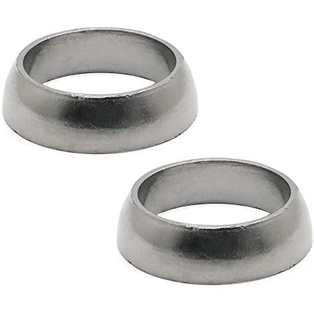 Pack of 2 Cosmoska Exhaust Gasket Donut Seals For Polaris Sportsman 600 700 800 Replace 3610047