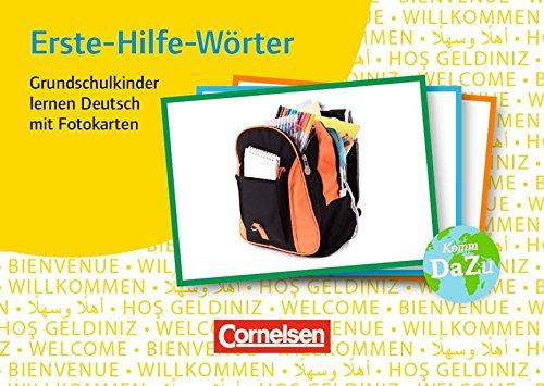 Deutsch lernen mit Fotokarten - Grundschule: Erste-Hilfe-Wörter: 250 Bildkarten