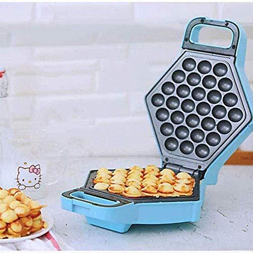 Waffeleisen 180 & deg;Rotierendes Waffeleisen für belgische Waffeln Mini Waffeleisen für Party und Küche Blau