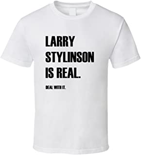 Larry Stylinson is Real Deal with It Funny White T Shirt