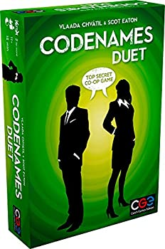 Czech Games Codenames  Duet - The Two Player Word Deduction Game