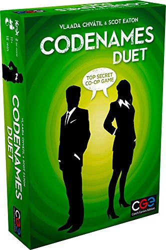 Czech Games Codenames: Duet  The Two Player Word Deduction Game