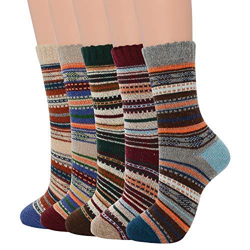 Zando Womens Wool Socks Winter