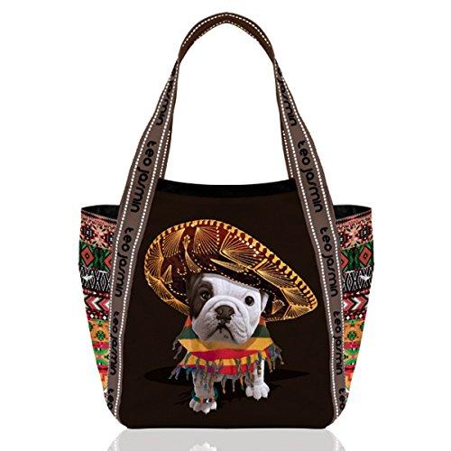 teo jasmin sac cabas mexicain noir