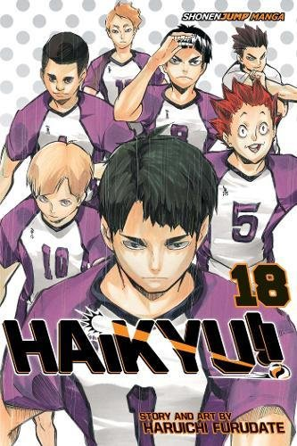 Haikyu!!, Vol. 18: Hope is a Waxing Moon