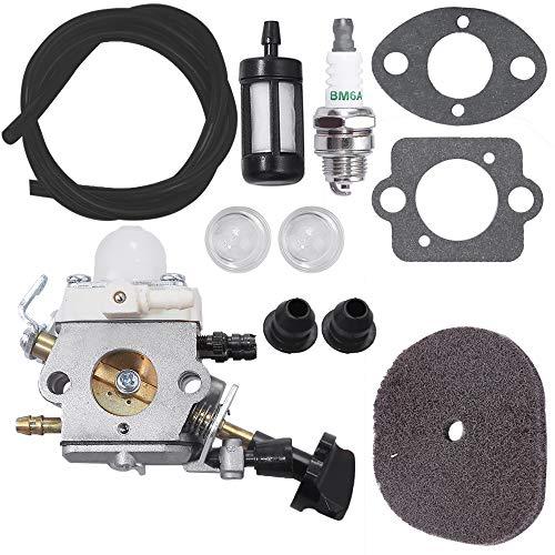 Carburetor for Stihl Leaf Blower SH56 SH56C SH86 SH86C BG86 BG86C BG86CE BG86Z BG86CEZ w/Air Fuel Filter Line Spark Plug Primer Bulb Gasket