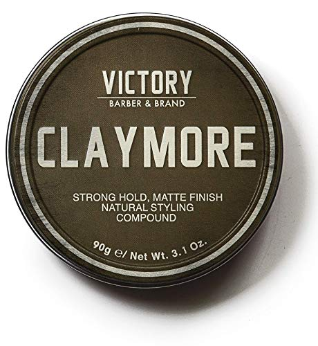 Price comparison product image VICTORY BARBER & BRAND CLAYMORE - strong hold,  matte finish - texturizing clay