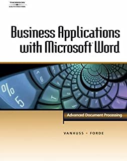 Business Applications with Microsoft® Word