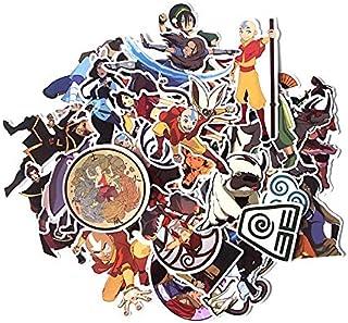 41 قطعة Avatar The Last Airbender Funny Scrapbooking Album الأمتعة الكمبيوتر المحمول دراجة نارية مفكرة ملصقات مقاومة للماء