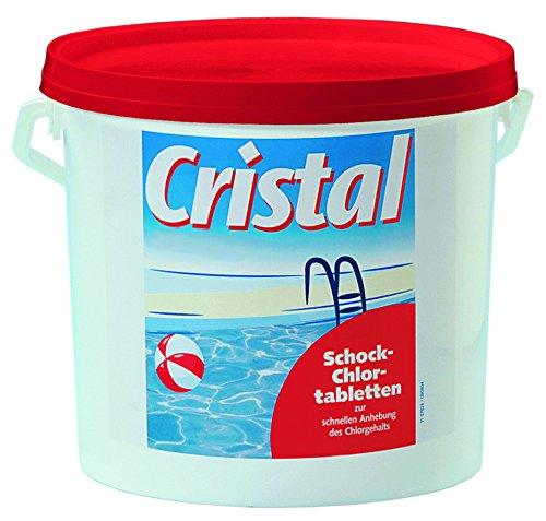 Cristal 1131502 Schockchlortabletten 3 kg, 20 g