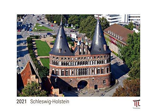 Schleswig-Holstein 2021 - White Edition - Timokrates Kalender, Wandkalender, Bildkalender - DIN A3 (42 x 30 cm)