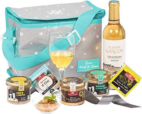 Ducs de Gascogne - Sac gastronomique Sur le Pouce comprenant 6 mets savoureux dont 1 bloc de foie gras- 944764