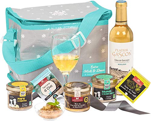 """Ducs de Gascogne - Sac gastronomique """"Sur le Pouce"""" comprenant 6 mets savoureux dont 1 bloc de foie gras- 944764"""