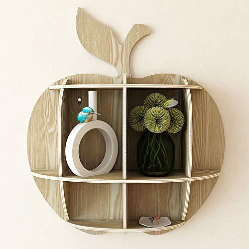 HXiaDyG Zwevende plank, plank, plank, om aan de muur op te hangen, van hout, voor keuken, kantoor of voor de slaapkamer