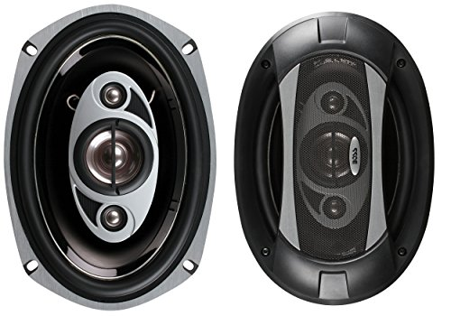 BOSS Audio Systems P69.4C 800 Watt Per Pair, 6 x 9 Inch, Full Range, 4 Way Car Speakers Sold in Pairs