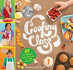 kid friendly holiday cookbooks - Cooking class