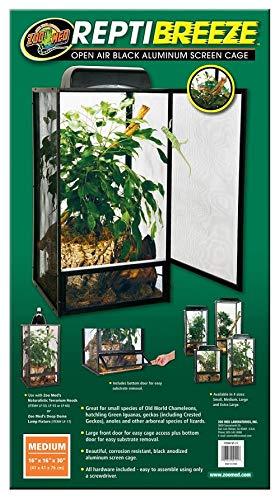 Zoo Med NT-11 ReptiBreeze Aluminium Terrarium 40 x 40 x 76 cm
