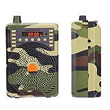 FAMKIT Llamada Electrónica/Señuelo Combinado Caza Señuelo Trampa Inalámbrico Al Aire Libre Mp3 Animal Pájaro Sonido Llamador Altavoz Reproductor Amplificador Camuflaje Color Radio FM Y