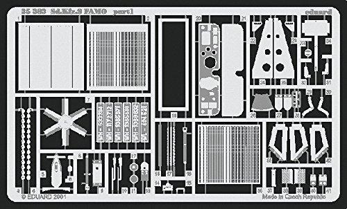 Eduard Accessories 35383 Accessoire de modélisme SD.KFZ 9 Jeux de Photos FAMO