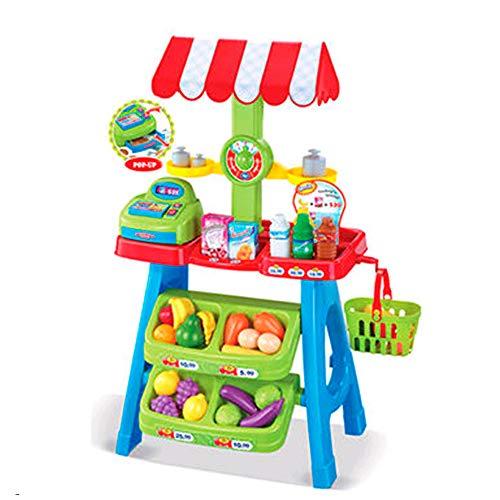 Tachan- Supermercado con Registradora, Color Rojo (CPA 72300852)