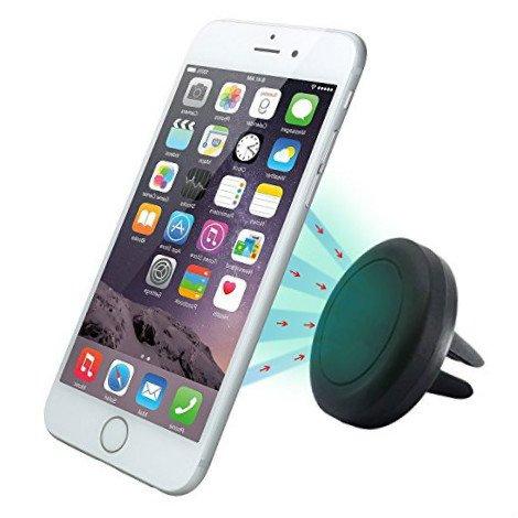 CAOLATOR Soporte Magnético de Movíl Soporte de Smartphone para Rejillas del Aire de Coche para iPhone 7/6s/6/5 Android Smartphon,GPS Navegador: Amazon.es: Electrónica