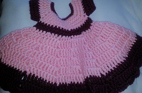 Newborn baby girl crochet dress