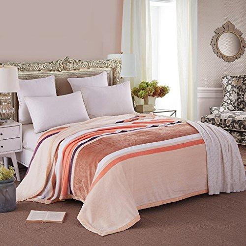 Couvertures Chambre Lit Couvert Casual Casual Doux Et Confortable Taille: 200 * 230cm