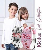 Orologio digitale a LED KIDDUS per bambini, ragazze, adulti. Cinturino comodo in morbido silicone. Batteria giapponese lunga durata. Facilità di lettura e apprendimento dell'ora. #3