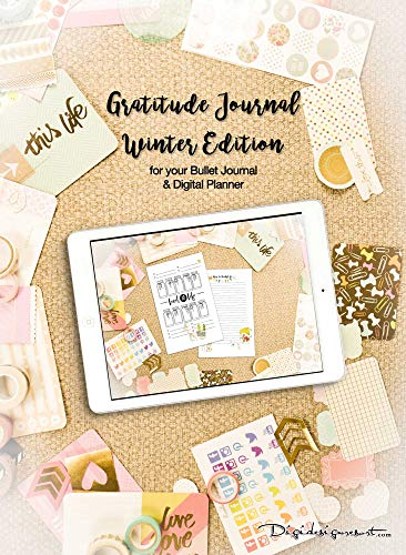Digital Journal Gratitude Log Level 10 Life for your Planner: Plan your Day and reach your Goals (English Edition)