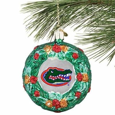 Old World Christmas Florida Wreath Christmas Ornament