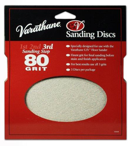 RUST-OLEUM 203938 Sanding Disc, 80g