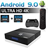 Android TV Box A95x F2 Android 9.0 TV Box mit Tastatur 4GB+32GB Amlogic