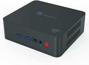 Beelink U55 Mini PC Intel Core-I3 5005U HD Graphics 5500 Windows 10 Mini Desktop Computer,8GB RAM/256GB SSD[Supports Extended RAM & SSD] Dual HDMI/Dual Wi-Fi/1000M LAN/Fan/Type-C