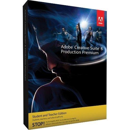 Adobe Production Premium CS6 [Mac] (version complète réservée aux étudiants et enseignants)