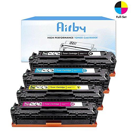 3 PK 125A CB541A CB542A CB543A Color Toner CMY Set For HP Laserjet CM1312 CP1215