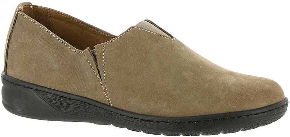 David Tate Womens Celine Leather Closed Toe Casual Slide Sandals