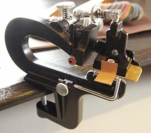 Manual Leather Skiver Leather Paring Machine Leather Splitter with Blades