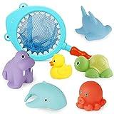 Richgv Badespielzeug für Babys, Wasserdichtes Schwebendes Spielzeug in der Badewanne,...